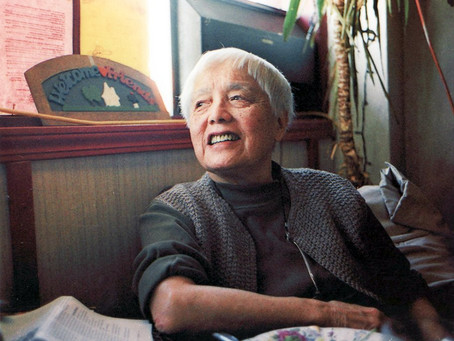 Happy 100th Birthday, Grace Lee Boggs!