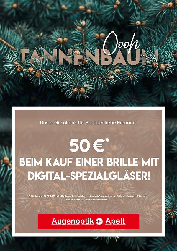 Poster Augenoptik Apelt, Aktion Tanna und Schleiz