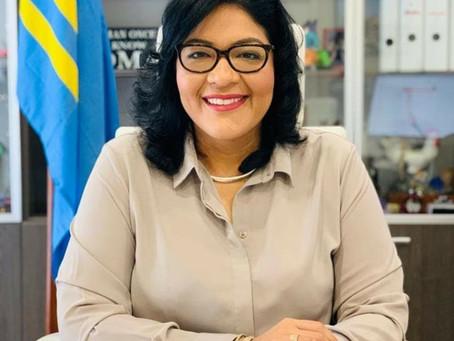 Minister Xiomara Maduro a reuni cu e Executive Director pa Reino Hulandes na IMF