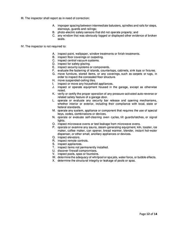 WIX - InterNACHI Standards Of Practice-p