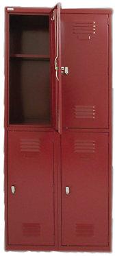Lily Metal Combination Locker 4 Door Cupboard
