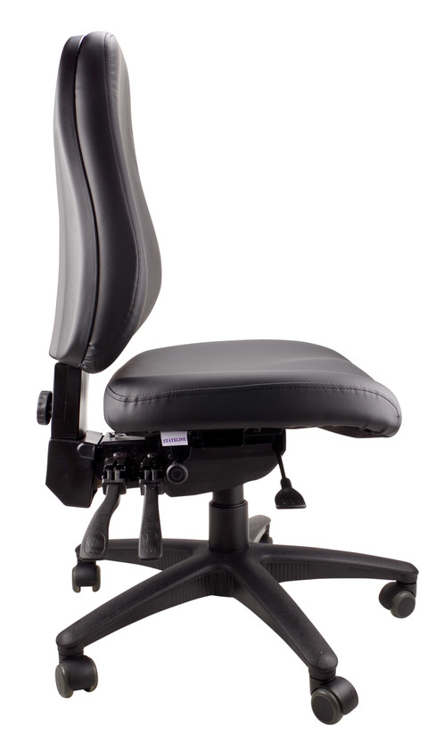 High Density Seat And Back Extensive Angle Adjustments Slide To Adjust Depth Gas Lift Height Adjustment Lumbar Support