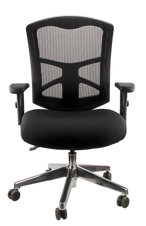 Casper Office Chair Mesh Back Black Fabric. AU$ 415.00. 3 Lever Fully  Ergonomic Mechahism 96% Recyclable After Use. Height And Width Adjustable  Arms