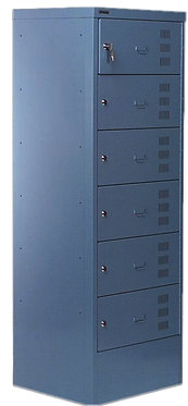Labrador Metal Laptop Locker 4-8 Door