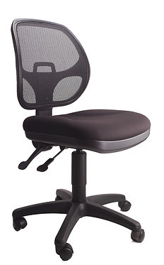 Caleva Office Chair Black Mesh Back