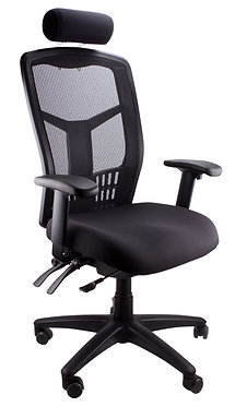Catmint Fabric/Leather Executive Chair High Back