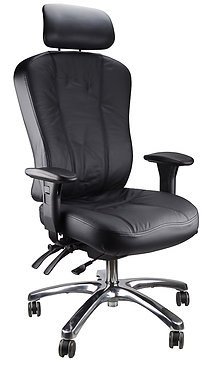 Charisma Leather Executive Office Chair High Back