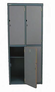 Lamantle Metal Student Locker 4 Door