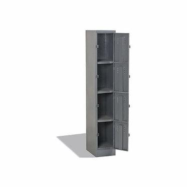 Leadwort Metal Locker 4 Door Cupboard