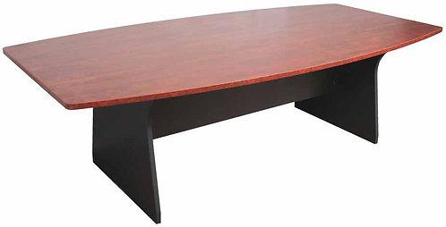 Mimosa Boardroom Table Boat Shape Mahogany Colour