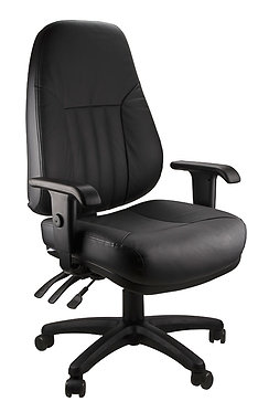 Cosy Large Leather Executive Office Chair