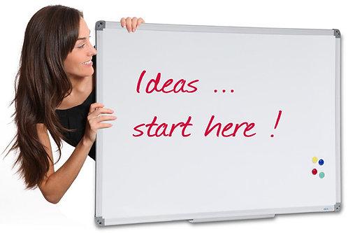 Communicate Acrylic Whiteboard
