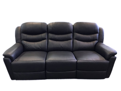 Castella Leather Couch Recliner