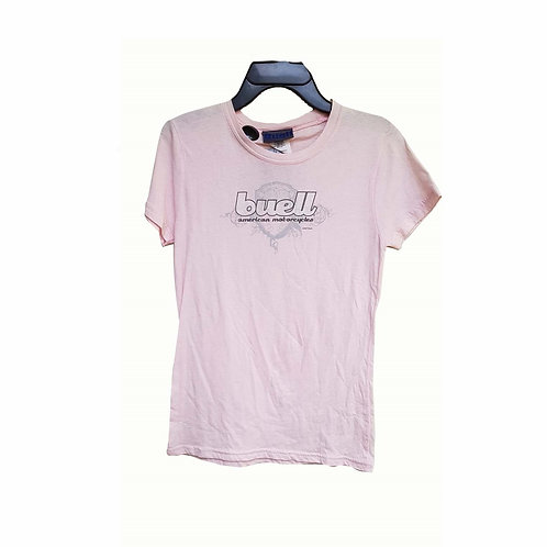TEE SHIRT ROSE BUELL