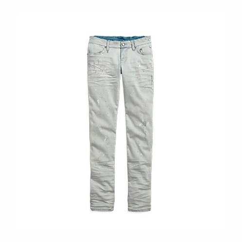 JEAN STONE WASHED GRIS