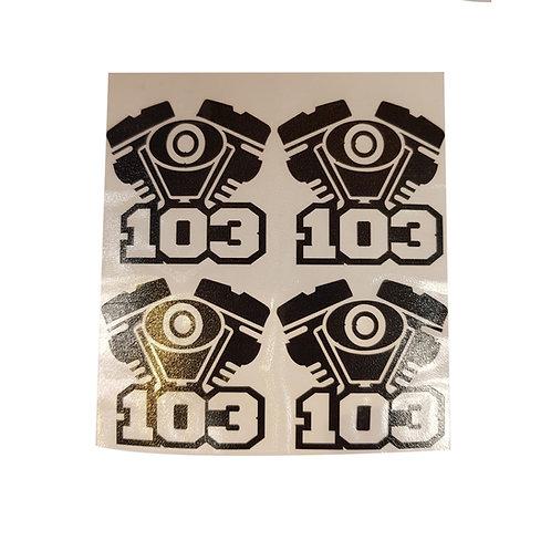 STICKER CASQUE 103