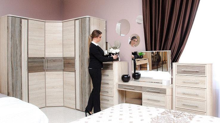 Спальня Бруна со шкафом
