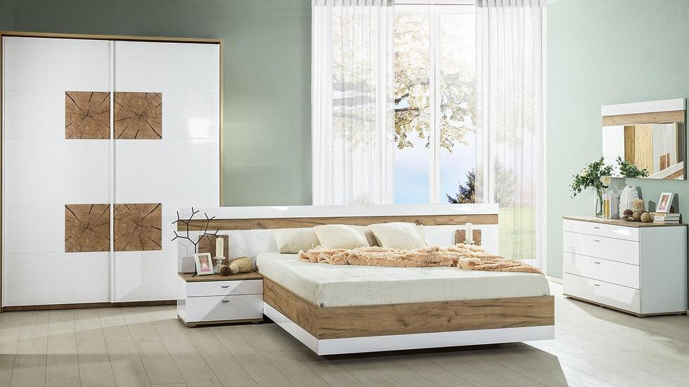 Спальня Фиджи цвет: Белый