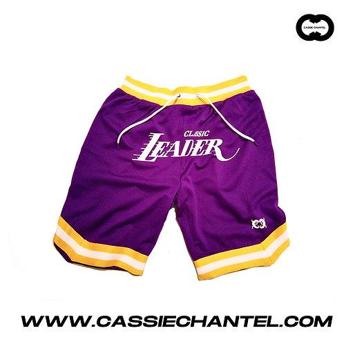 MM LEADER shorts PURP