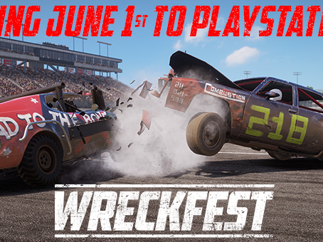 Hype: Wreckfest comes to PS5 June 1st, 2021