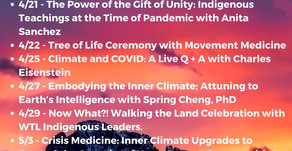 Climate Change & Consciousness Anniversary Celebration