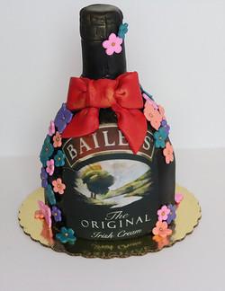Bailey's Bottle Cake