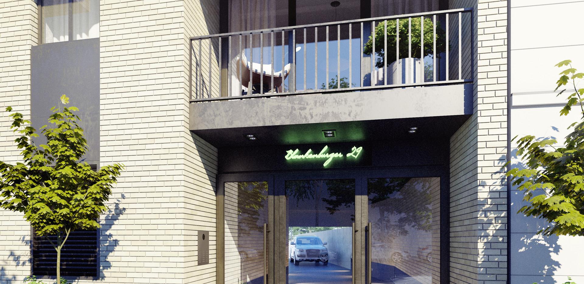 Eingangsbereich/Einfahrt