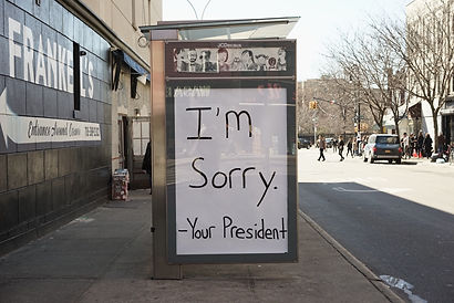 I'm Sorry -Your President