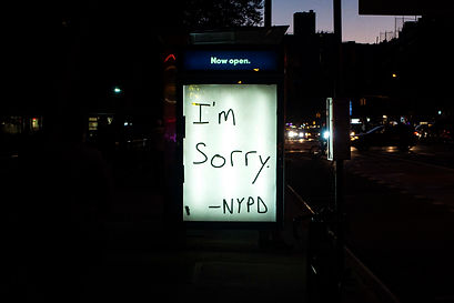 I'm Sorry -NYPD