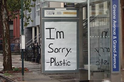 I'm Sorry -Plastic
