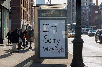 I'm Sorry -White People
