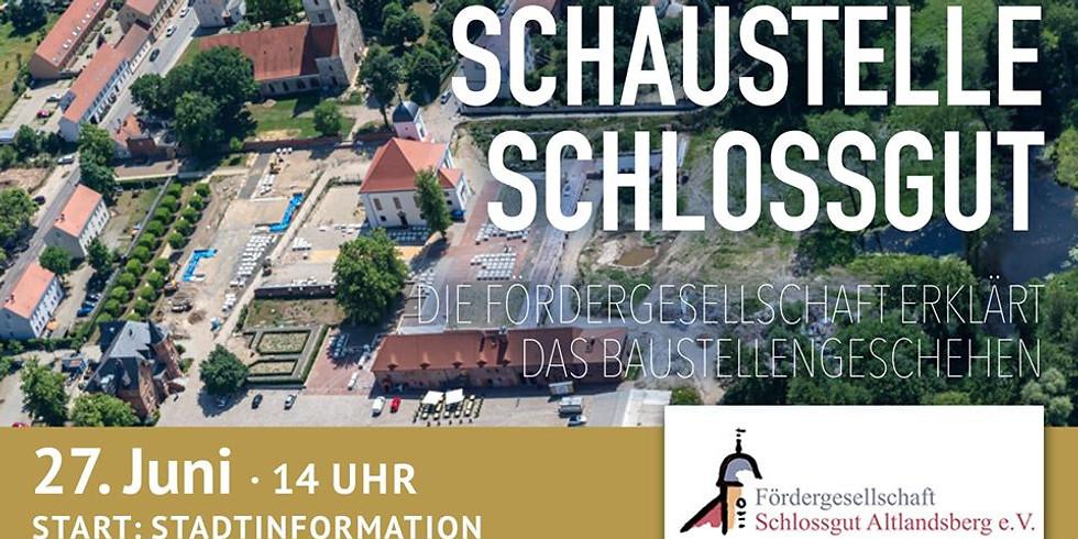 Schaustelle Schlossgut
