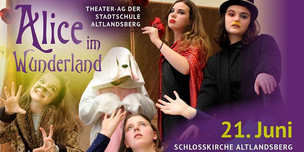 Alice im Wunderland - Theaterprojekt der Stadtschule