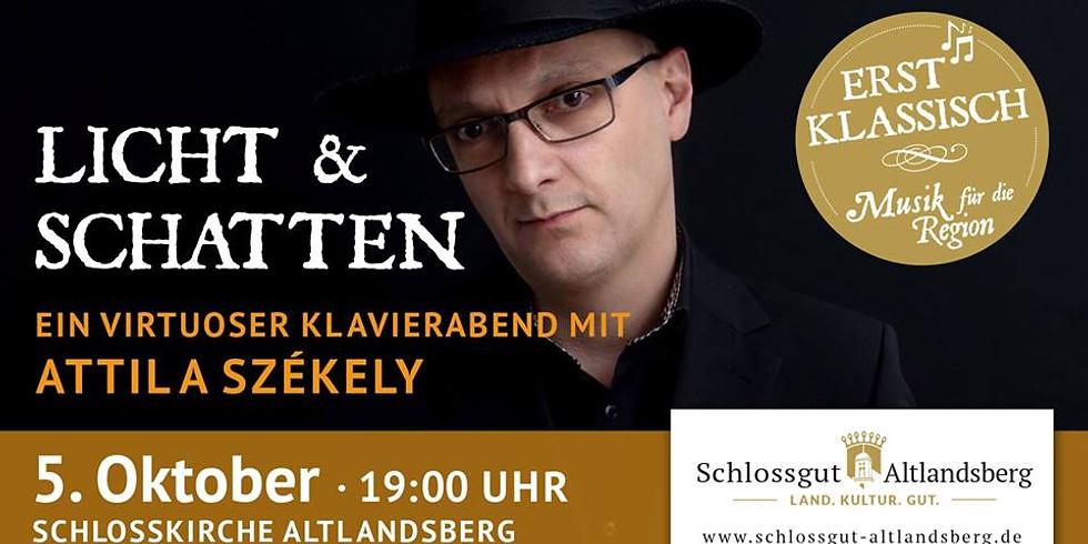 Licht und Schatten – Klavierabend mit Attila Székely
