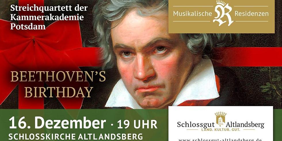 Musikalische Residenzen zu Beethovens Geburtstag