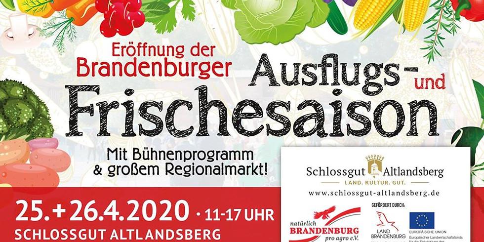 Eröffnung der Brandenburger Ausflugs- und Frischesaison
