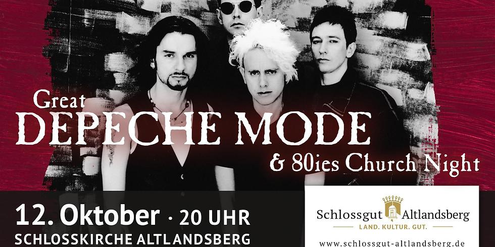 Great Depeche Mode & 80s Church-Night!