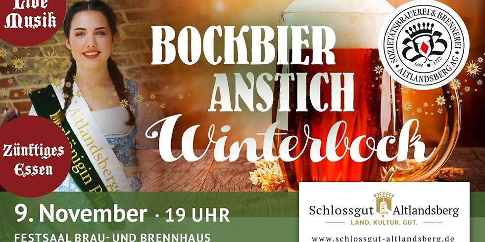 Bockbieranstich Winterbock