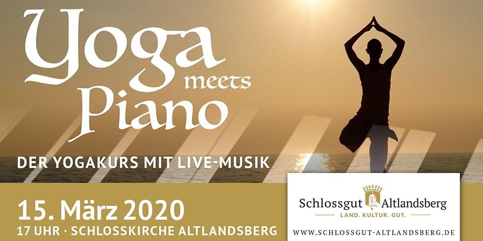 Yoga meets Piano