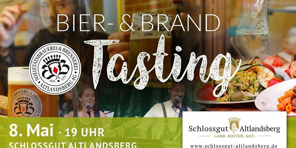 Exklusives Bier- & Brand-Tasting