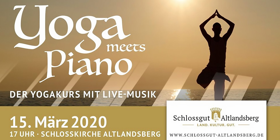 Ausverkauft: Yoga meets Piano