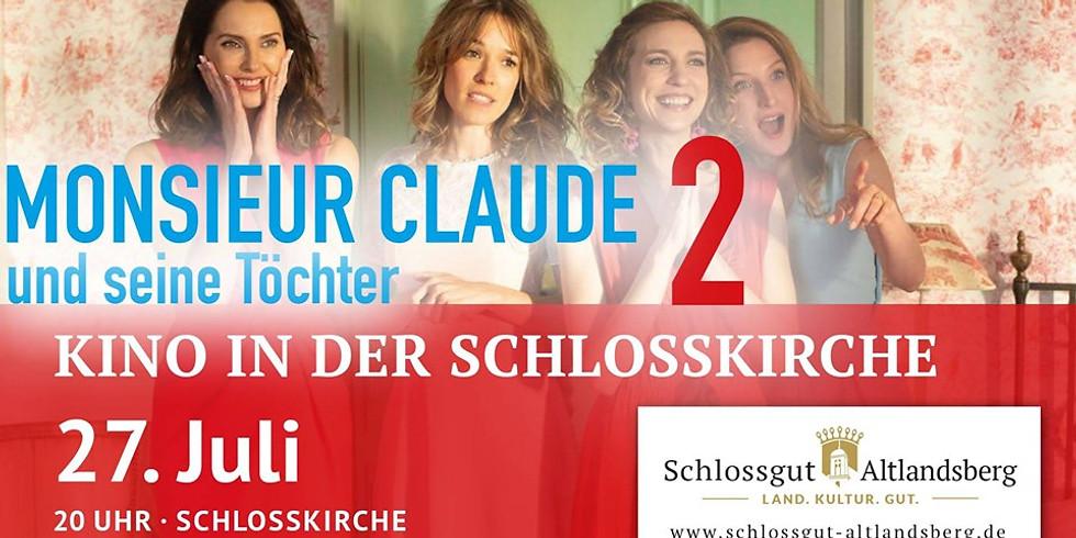 Kino in der Schlosskirche: Monsieur Claude und seine Töchter 2