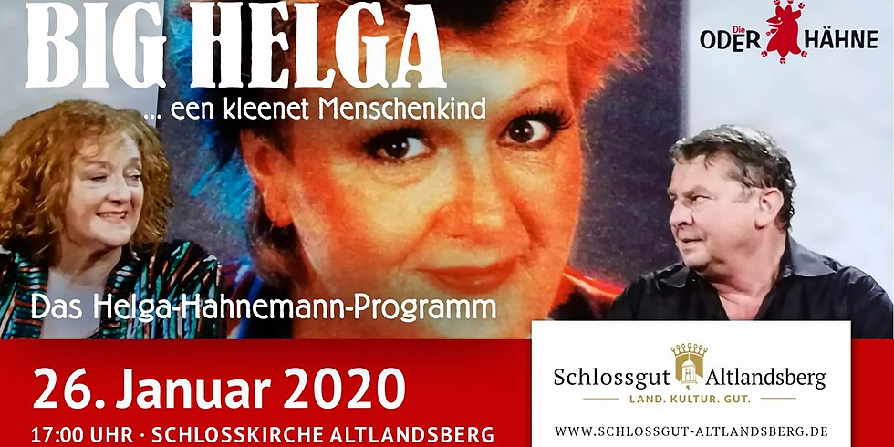 Big Helga - Das Helga Hahnemann Programm