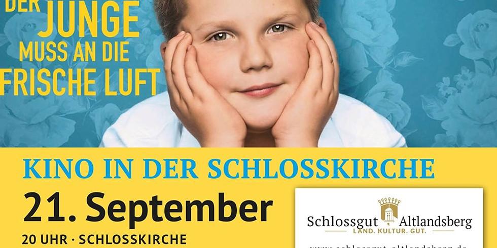 Kino in der Schlosskirche: Der Junge muss an die frische Luft