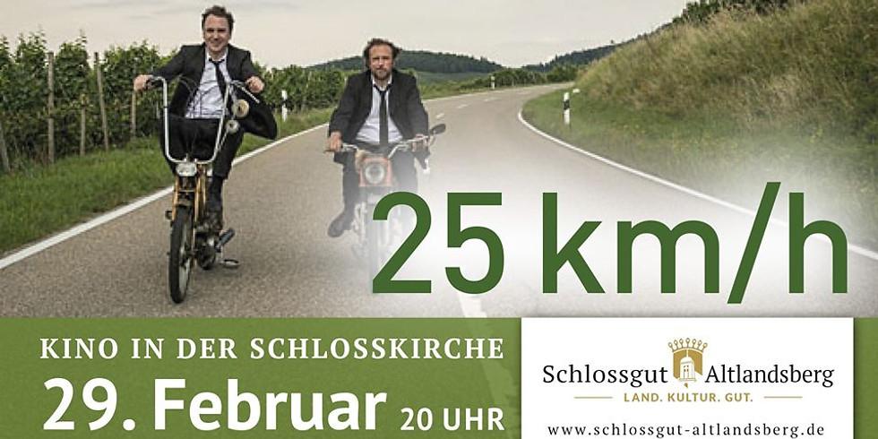 Kino in der Schlosskirche: 25 km/h