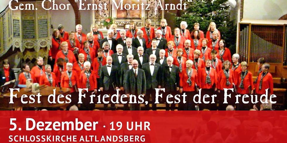 Chorkonzert: Fest des Friedens, Fest der Freude