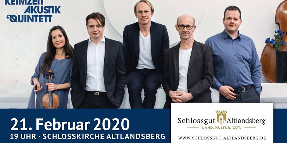 """Ausverkauft: Keimzeit - Akustik Quintett """"Albertine"""""""