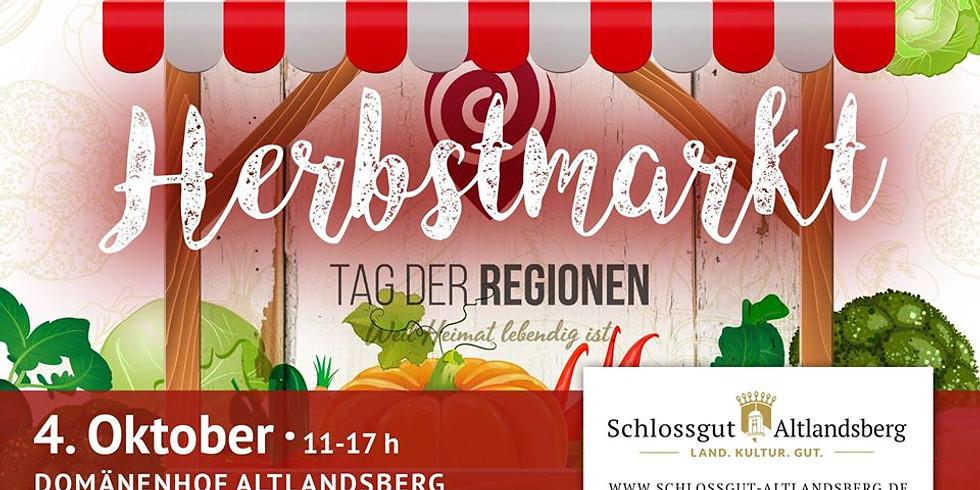 Herbstmarkt zum Tag der Regionen