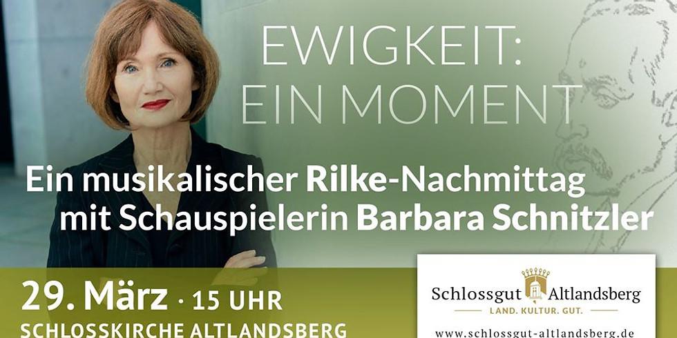 Rilke-Nachmittag mit Barbara Schnitzler (1)