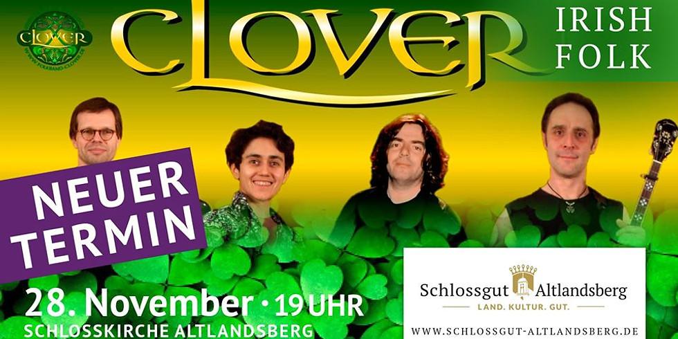 Clover - Irish Folk // NEUER TERMIN am 28.11.2020